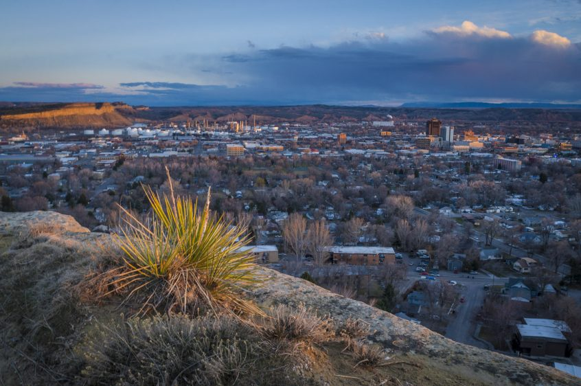 Billings, Montana (Swords Park Overlook)