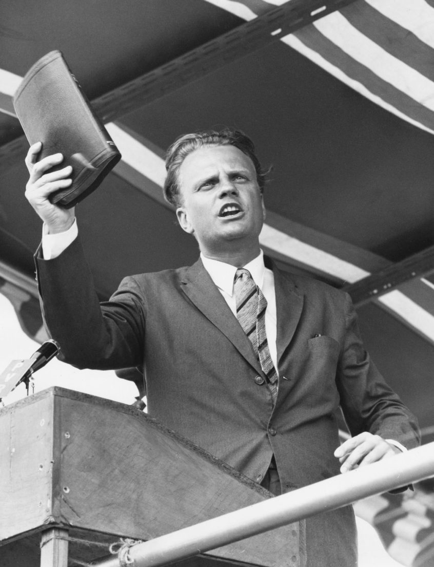Billy Graham in Zimbabwe.