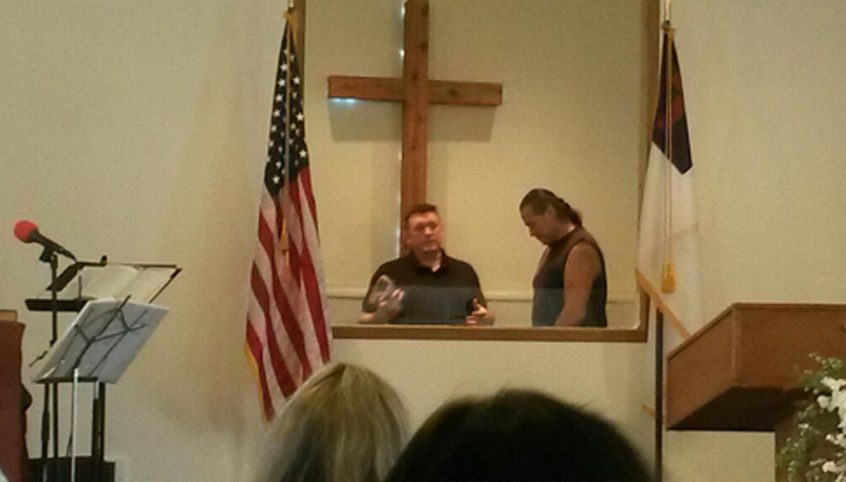 Pastor Wade Barnes