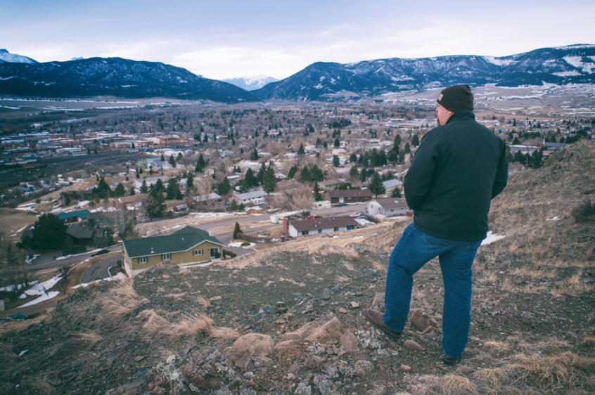 Livingston Montana Overlook