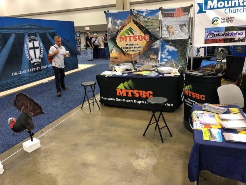 MTSBC Booth at the SBC Annual Meeting